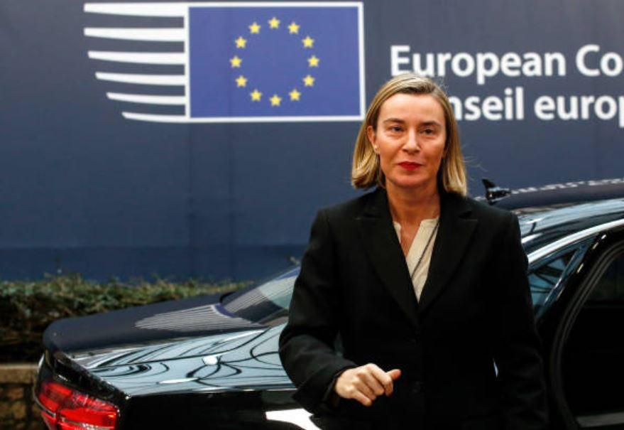 Federica Mogherini, dirige Asuntos Exteriores y Políticas de Seguridad de la Unión Europea. (Gettyimages)