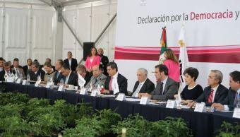 Conago e INE firman declaración para la democracia y legalidad 2018