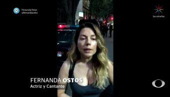fernanda ostos denuncia agresion sexual condesa detienen atacante