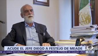 Fernández de Cevallos acudió al festejo de cumpleaños de José Antonio Meade