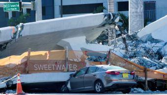 Identifican a 5 víctimas del colapso de puente en Miami