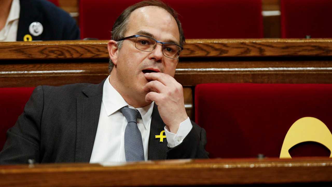 Fracasa investidura Jordi Turull como nuevo presidente Cataluña