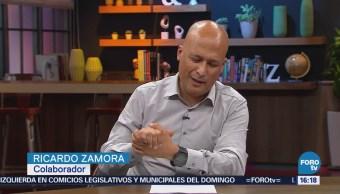 Buscamos Durante Entrega Premios Oscar Ricardo Zamora
