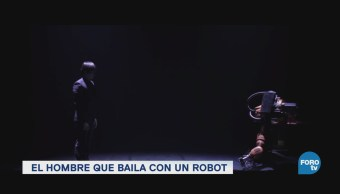 Baile Robótico Huang Yi Luces Se Apagan Coreógrafo Taiwanés Huang Yi