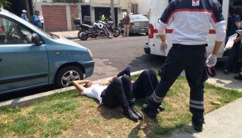 Fuga de gas deja 16 menores intoxicados en la Narvarte, CDMX. (S. Servín/Noticieros Televisa)