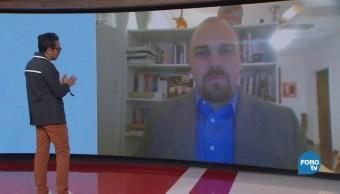 Genaro Lozano entrevista a Andrei Serbin