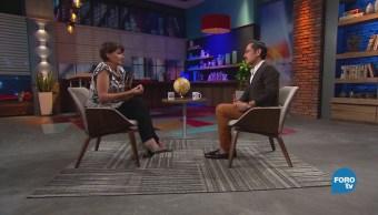Genaro Lozano entrevista a Jacqueline L Hoist
