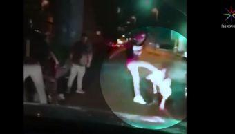 Video muestra golpiza a pareja en Tláhuac; autoridades buscan a los agresores