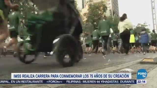 Imss Realiza Carrera Conmemorar 75 Años Creación