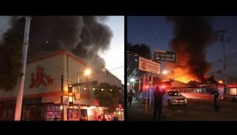Dos incendios movilizan a los servicios de emergencia en la CDMX