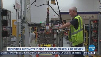 Industria Automotriz Solicita Claridad Propuesta Estadounidense Tlcan
