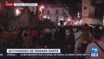 Inicia procesión de la Santísima Trinidad en Taxco Guerrero