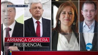 Inician la carrera presidencial de Mèxico