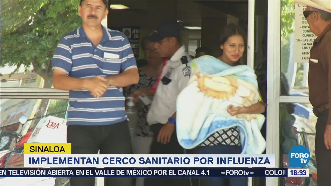Instalan Cerco Sanitario Sinaloa Casos Influenza