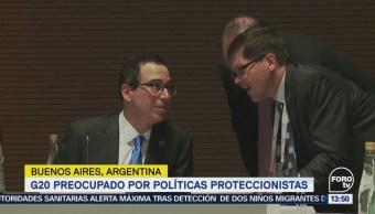 Integrantes G20 Manifiestan Preocupación Proteccionismo