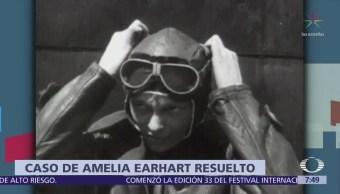 Investigador afirma haber resuelto el misterio de Amelia Earhart