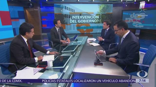 Javier Lozano, Fernando Rodríguez y Zoé Robledo en la mesa de Despierta