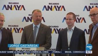 Jorge Castañeda se suma a la campaña de Ricardo Anaya