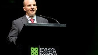 Gobierno busca instrumentos financieros para construir infraestructura, titular de SHCP