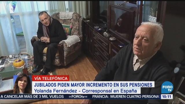 Jubilados piden mayor incremento en sus pensiones