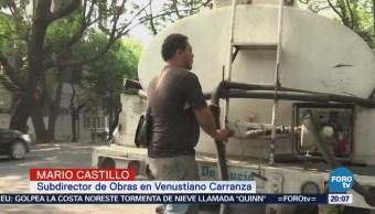 Inician operativo para evitar cierra de válvulas de agua potable en CDMX