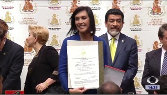 Trabajos de Noticieros Televisa y FOROtv ganan Premio Nacional de Periodismo