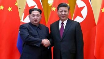 Norcorea Kim Jong Un China presidente Xi Jinping