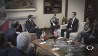 Kushner y EPN acuerdan trabajar en beneficio de ambos países