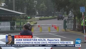 Kushner y Peña Nieto dialogan sobre seguridad, migración y comercio