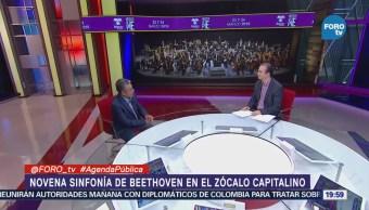 La filarmónica de la Ciudad de México ofrece concierto gratuito