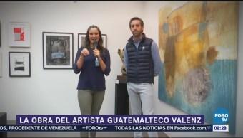 La obra del artista guatemalteco Valenz