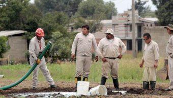 PGR asegura dos tomas clandestinas de hidrocarburo en Jalisco
