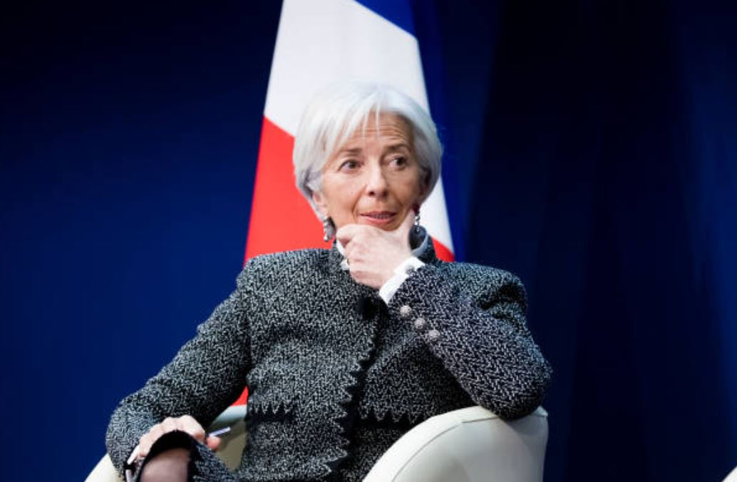Christine Lagarde, directora del Fondo Monetario Internaciona. (Gettyimages)