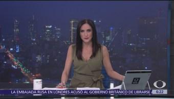Las noticias, con Danielle Dithurbide: Programa del 13 de marzo del 2018