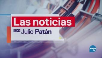 Las noticias, con Julio Patán: Programa del 15 de marzo de 2018