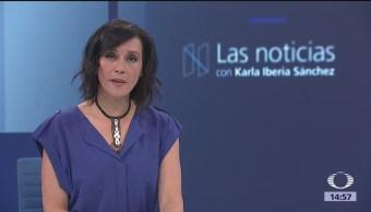 Las Noticias, con Karla Iberia: Programa del 15 de marzo de 2018