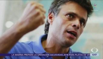 Leopoldo López elude vigilancia y concede entrevista a The New York Times