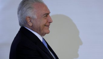 Corte Suprema Brasil autoriza levantar secreto bancario Temer