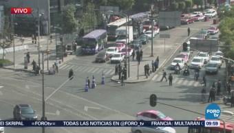 Liberan de manifestantes avenida Chapultepec, CDMX