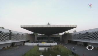 Limpiarán fuente del Museo Nacional de Antropología
