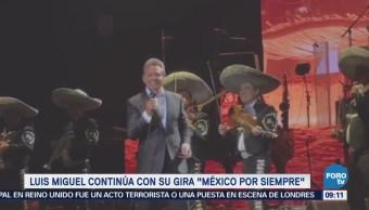 #LoEspectaculardeME: Luis Miguel continúa con su gira 'México por siempre'