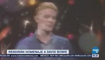 #LoEspectaculardeME: Rendirán homenaje a David Bowie