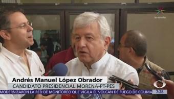 López Obrador pide a otros candidatos que lo traten con respeto