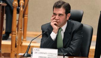 Advierte Lorenzo Córdova de campaña de desprestigio contra el INE