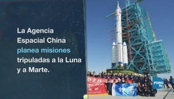 Los civiles chinos podrán ir al espacio