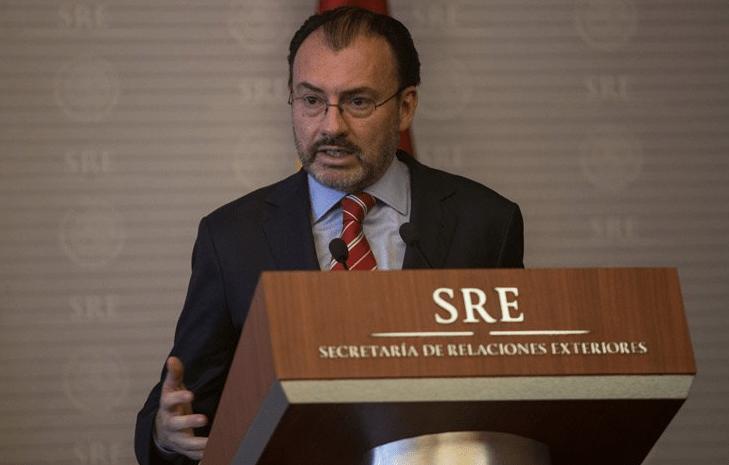 Luis Videgaray ve esfuerzo sincero en resolver negociaciones del TLCAN