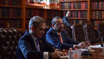Mancera pide a Segob fortalecer combate al tráfico de armas y narcomenudeo