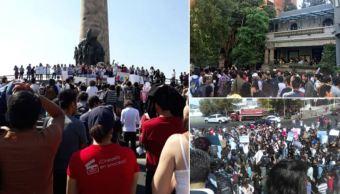 Al menos tres mil personas participan en marcha nacional de desaparecidos, en Jalisco