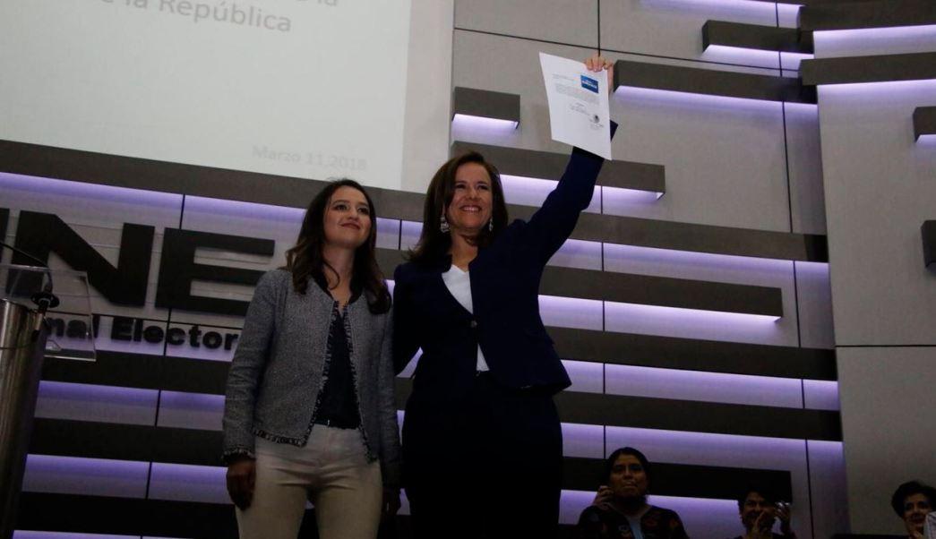 margarita ine registro candidata independiente presidencia