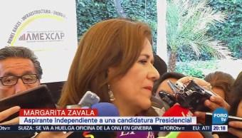 Margarita Zavala no se reunirá con 'El Bronco' y Ríos Piter